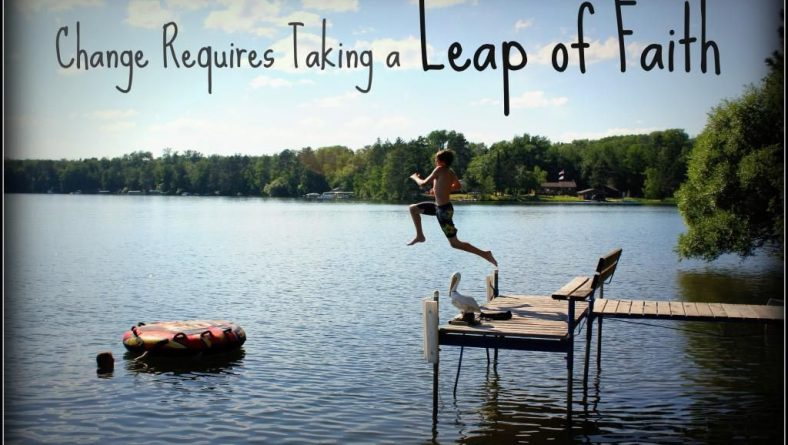 Taking a Leap of Faith